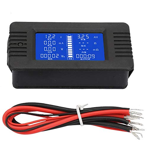 %6 OFF! Multi-functional Battery Tester, DC013 10A Electrical Tester Battery Tester Electricity Mete...