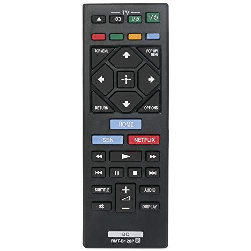 VINABTY RMT-B128P Telecomando sostitutivo per SONY RMTB128P per BDP-S1200 BDP-S3200 BDP-S4200 BDP-S5200 Lettore dischi Blu-ray BDP-S7200