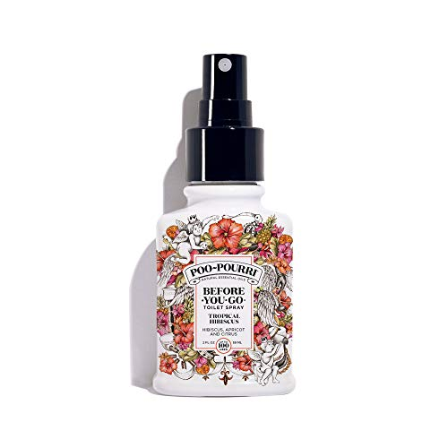 Poo-Pourri Before-You-go Toilet Spray, Tropical Hibiscus Scent, 2 Fl Oz