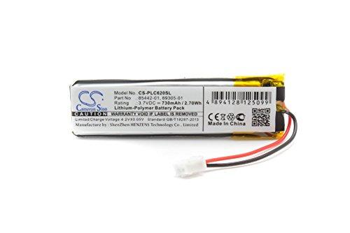 vhbw Akku passend für Plantronics Calisto 620, 620M, 620UC/M, P620, P620-M wie 89305-011, 85442-01 - (Li-Polymer, 730mAh, 3.7V) Ersatzakku, Batterie