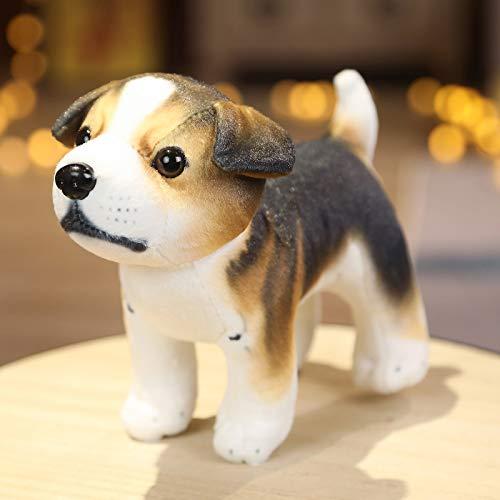 Hunpta @ Süßes Plüschtiere Simulation Hündchen Plüsch Spielzeug Kuscheltier Puppe Dekokissen Geburtstag Weihnachten für Junge Mädchen, 17x10x17.5cm