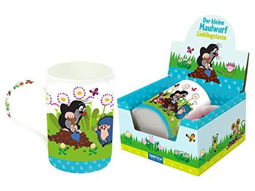 Trötsch Der kleine Maulwurf Lieblingstasse Schaufel: Aus Porzellan mit Geschenkverpackung