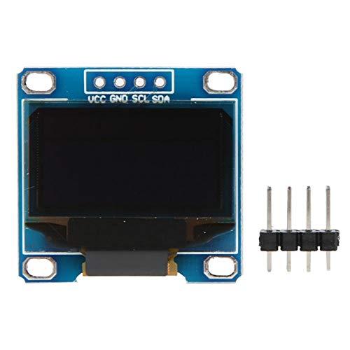 Mini módulo de visualización Comunicación de diodo emisor de luz 128x64 para la serie Msp430 (amarillo y azul)