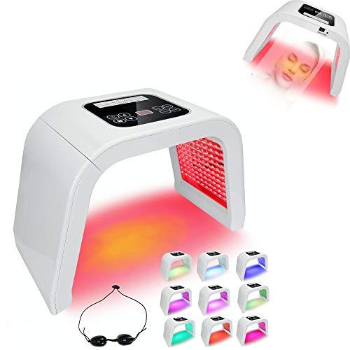 Máscara de belleza fotodinámica PDT de 4 colores,máquina de rejuvenecimiento de la piel con acné LED, instrumento de blanqueamiento y acné PDT,reafirmante antiarrugas, mejorando la piel áspera(EU)