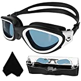 Polarized Swimming Goggles,Swim Goggles Anti Fog UV Protection No Leakage Clear Vision Easy