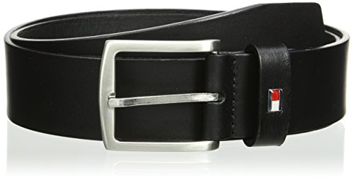 Tommy Hilfiger New Denton Ceinture, Noir, Medium Homme