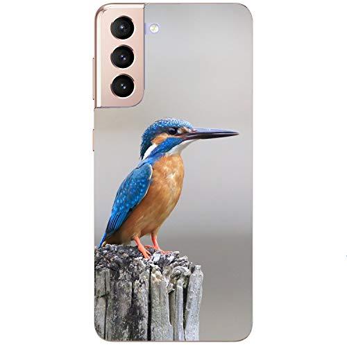 Funda blanda para teléfono móvil, diseño de pájaro, pájaro, natural, para Samsung Apple, Huawei Honor Nokia One Plus, Oppo ZTE Xiaomi Google, tamaño: Samsung S7 Edge