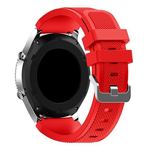 ybbghio Bracelet de Rechange en Silicone pour Samsung Gear S3 Frontier/Classic