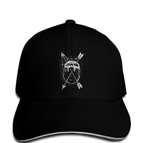 Gorra de béisbol Gorra de béisbol para Hombre Cráneo Flecha Tatuaje Reemplazo Gota Barco abandonado Ark Rebellion Gorra de Circo ODD Hat Mujeres