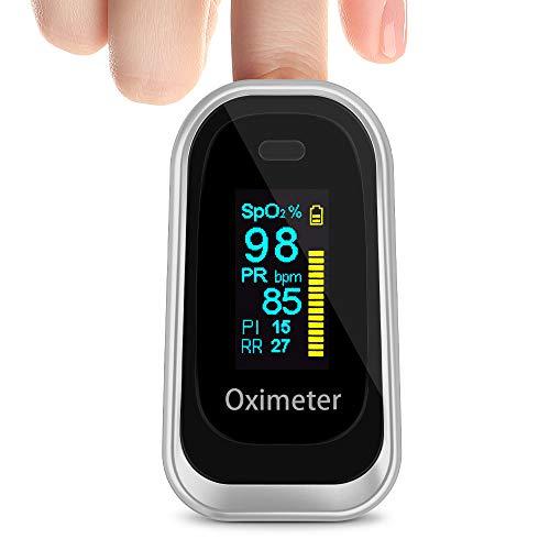 Oxymètre de pouls, Moniteur de saturation en oxygène Spo2 Doigt...