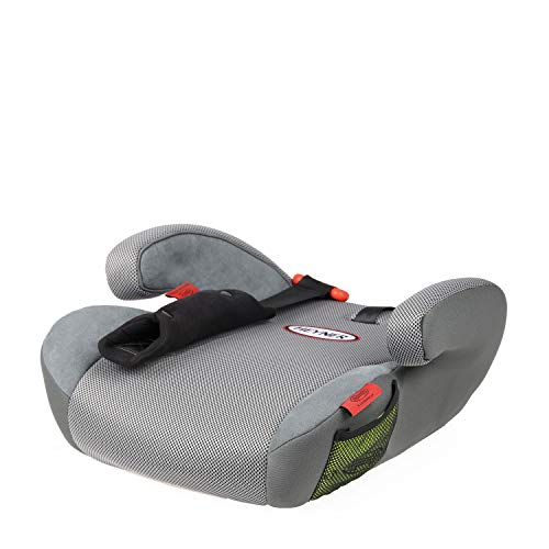 HEYNER® Kids 794100 Sitzerhöhung SafeUp M ERGO (II,III)Farbe Pantera Black (grau)