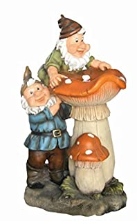 Water Gnomes Toadstools Garden Water Feature