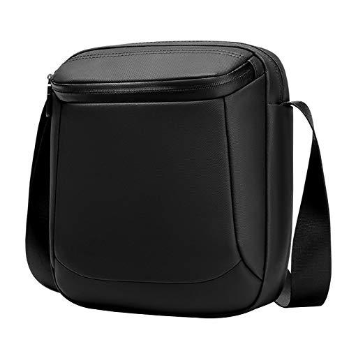 Adlereyire Sling Bag Fashion Chest Shoulder Backpack Crossbody Bag Ideal for Men Women Lightweight Outdoor Sports Travel Hiking (Color : Black, Size : 20 * 6 * 25cm)