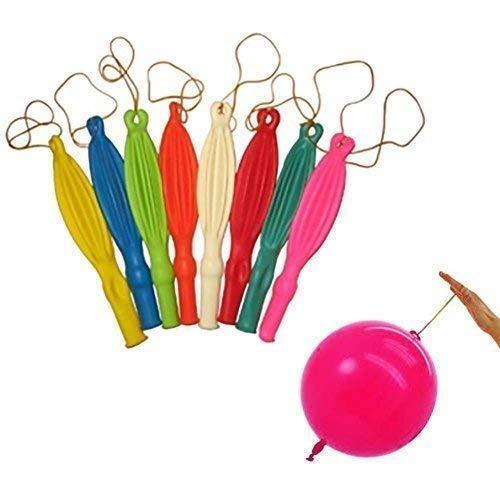 WedDecor Multicolor 12 Globos Grandes con Elástico Hinchable Bandas para Fiesta Cumpleaños Niños Detalles de Decoración de Decoración para Bodas (Pack de 50)