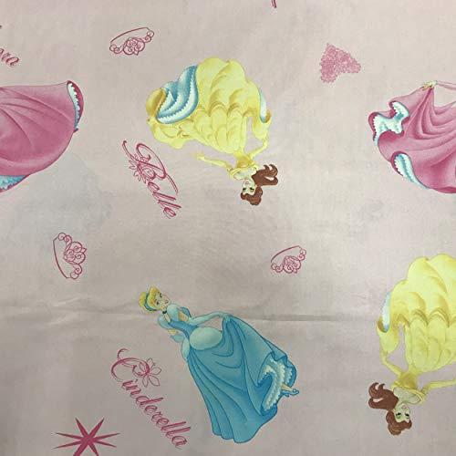 Panini Tessuti, Tessuti Bambini Disney Venduto al Mezzo Metro, 1 qtà = 50 cm; 2 qtà = 100 cm. per Accessori, Tende, Sacchetti, copertine Biancheria da Letto.
