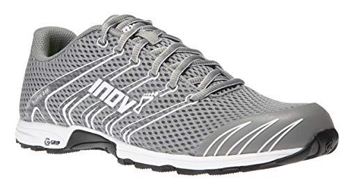 Inov-8 Womens F-Lite G 230 - Minimalist Cross Training Shoes - Classic Model - Graphene Grip Grey/White
