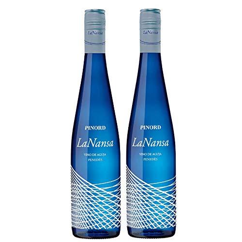 Pinord Pack de 2 botellas Vino de Aguja La Nansa - 1500 ml