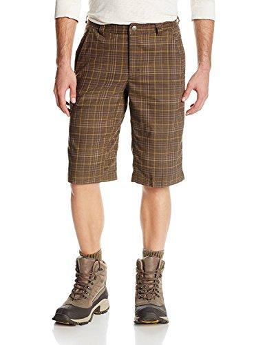 Columbia Sportswear Herren Cool Creek Stretch Plaid Shorts, Herren, Buffalo Plaid, 44x14-Inch
