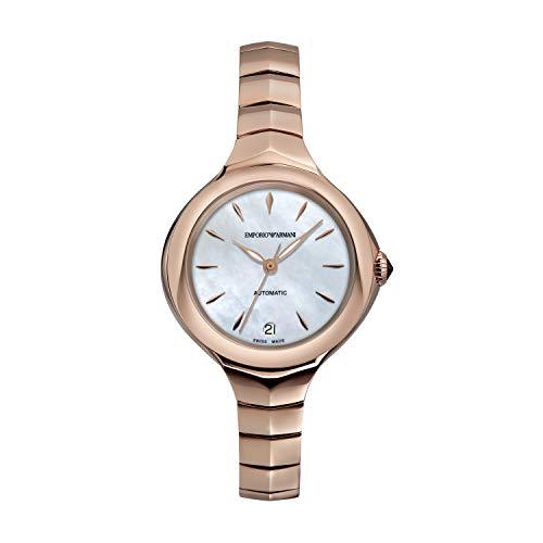 Orologio automatico da donna Emporio Armani in acciaio inossidabile ARS8206