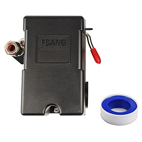 Air compressor pressure automatic start switch 95-125 PSI 1 port,0.8MPA air pump accessories