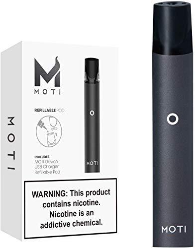 Sigaretta Elettronica Svapo Kit Completo, E Sigaretta/Shisha Box Mod, All-In-One Ecig Vape Starter Kit, 1.8ml Atomizzatore Sostituibile Top Refill, Prodotto Senza Nicotina, No E-Liquido (Nero)