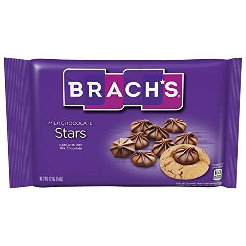 Brach's Solid Milk Chocolate Stars 12oz