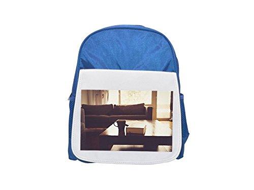 Living Room, Couch, Sofa, Table printed kid's blue backpack, Cute backpacks, cute small backpacks, cute black backpack, cool black backpack, fashion backpacks, large fashion backpacks, black fashion b