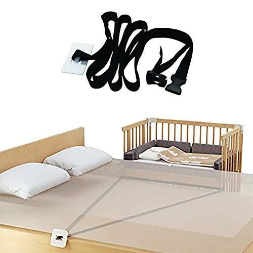 Universale Gurt für Babybett,Beistellbett Befestigung Beistellbetten Gurt,Gurt für Boxspringbetten,595cm
