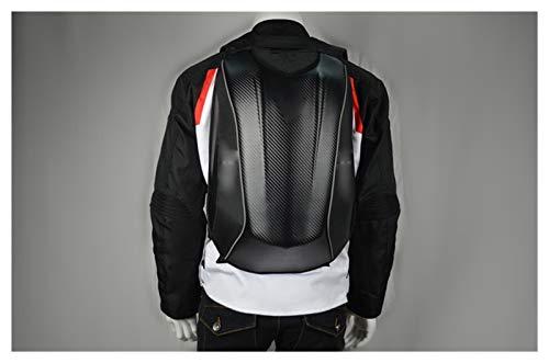 XYBH Xybhjxb Bolsa de Motocicleta de los Hombres Negros Mochila de la Moto Impermeable Viaje Bolsa de Equipaje Bolsa de Motocicleta Bolsa de Tanque de Combustible magnético