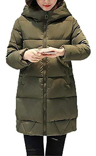 Nvfshreu winterparka dames lang warm verdikt met winter lange mouwen donsjas comfortabele maten capuchon donsjas elegante trendy outdoor casual winterjas