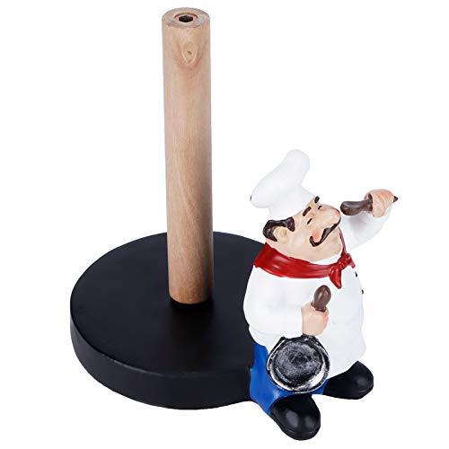 Toallero de Papel, Soporte de Rollo de Papel, Hermosa Mano de Obra Fina para el hogar de la Cocina