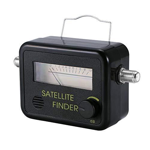 TLS.eagle Analog Satellite Finder DVB-T Mini Digital Satellite Signal Finder Meter with Signal Meter for TV Reception Systems