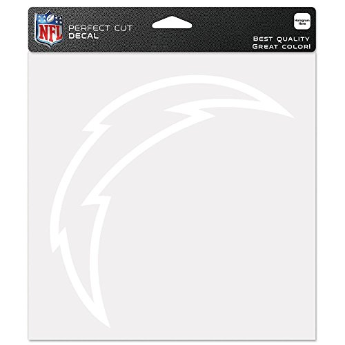 WinCraft NFL San Diego Chargers WCR25681071 Perfect Cut Decals, 8' x 8'