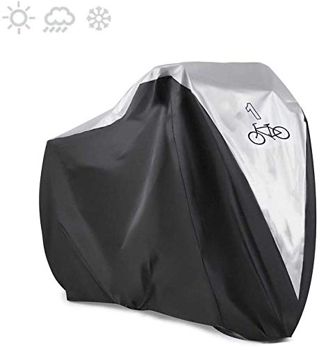 Bikes Cover, 180T Heavy Duty Outdoor Waterproof Bicycle Cover met winddichte gesp voor mountainbike, racefiets