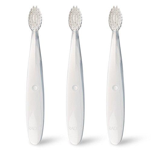 RADIUS Children's Toothbrush Pure Brush Ultra Soft...