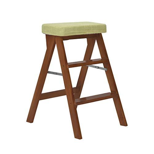 Tritt- kleine Leiter/Klapphocker klappstufen holz/klappstufenleiter/Klapptritts/Stufen Tritthocker/Hockerleiter/Tritthocker klappbar/Leiterstuhl/Hockerleiter/3 Schritt Hocker Tritthocker Klappstuf