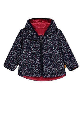 Steiff Baby-Mädchen Anorak wendbar Jacke, Mehrfarbig (Allover|Multicolored 0003), 56