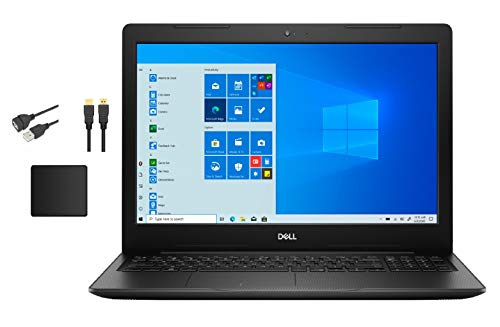 Dell Inspiron 15 Touchscreen HD Laptop Bundle with WOOV Accessory | 10th Gen Intel Core i7-1065G7 | 16GB RAM | 1TB SSD | WiFi | Bluetooth | Windows 10 Home | Black
