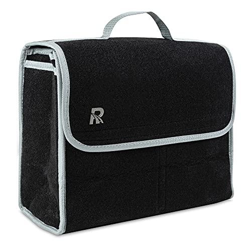TuulKIT Roadpatrol Faltbare Kofferraumtasche für Kofferraum-Aufbewahrung und eine perfekte Halterung für Auto-Reinigungsprodukte, Hundezubehör und Golf-Ausrüstung