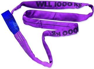 Braun 10061RS ronde lus 1000 kg draagkracht, 6 m omtrek, eindeloos met polyesterkern, paars