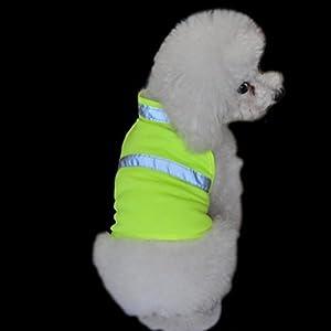 réglable pour animal domestique Gilet réfléchissant Chien de chasse Gilet Veste de sécurité haute visibilité