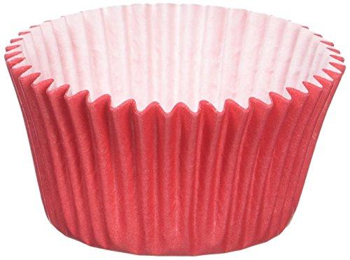 180 caissettes en papier rouge / 180 Red Muffin Cases