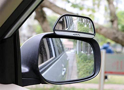 DOGIGIE 2 x verstellbare Autorückspiegel Zusatzspiegel gegen Toten Winkel, Black