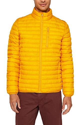 ESPRIT Herren 079Ee2G003 Jacke, 765/DUSTY Yellow, XS