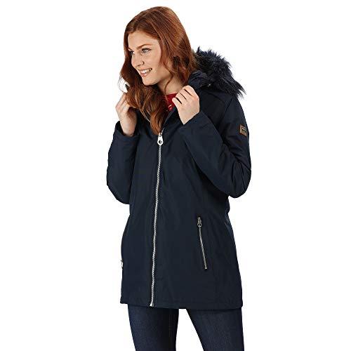 Regatta Dames Myla Waterdicht & Thermo-guard Geïsoleerde Faux Bont Hooded Outdoor Winterjas Waterdicht