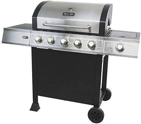 Dyna Glo DGB515SDP D 5 Burner Open Cart Propane Gas Grill product image