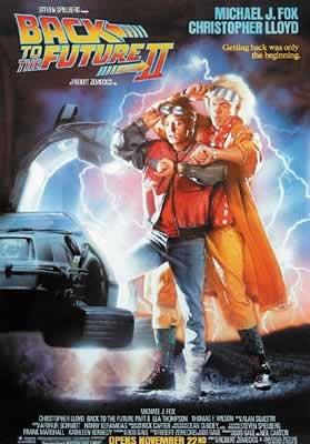 Poster Retour dans le Futur II (68,5cm x 101,5cm)