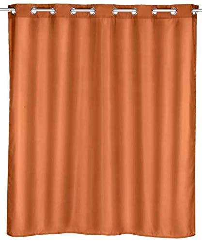 WENKO Duschvorhang Comfort Flex Terracotta