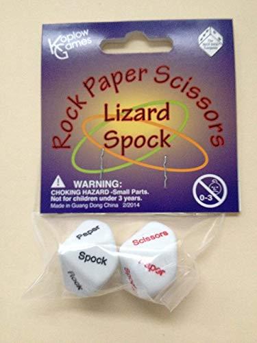 Koplow Games Rock Paper Scissors Lizard Spock Dice Game