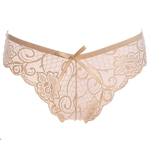 Kolylong®Unterhosen Damen Unterwäsche Sexy Spitze Hipster Weich Panties Frauen Slips Niedrige Taille Lace Strings Tanga Bequem Unterkleidung